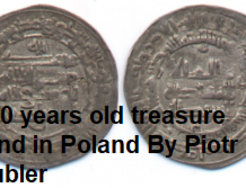 1000 YEAR OLD TREASURE DISCOVERED IN POLAND