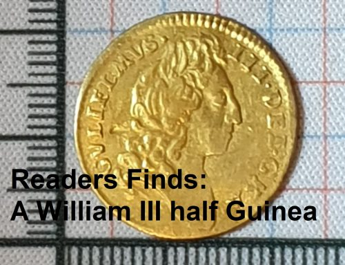 Readers Finds: A William III half Guinea