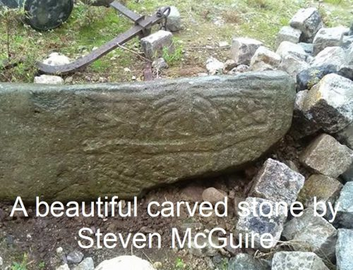 Readers finds: A Beautiful Carved stone by Steven McGuire.
