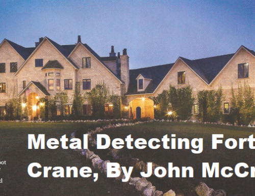 Metal Detecting Fort Crane by John McCraw