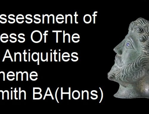 A Critical Assessment of the Success Of The Portable Antiquities Scheme by Alison Smith BA(Hons)