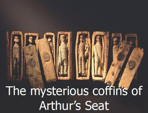The mysterious coffins of Arthur's Seat