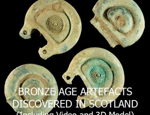 BRONZE AGE ARTEFACTS DISCOVERED IN SCOTLAND (Including Video and 3D Model)