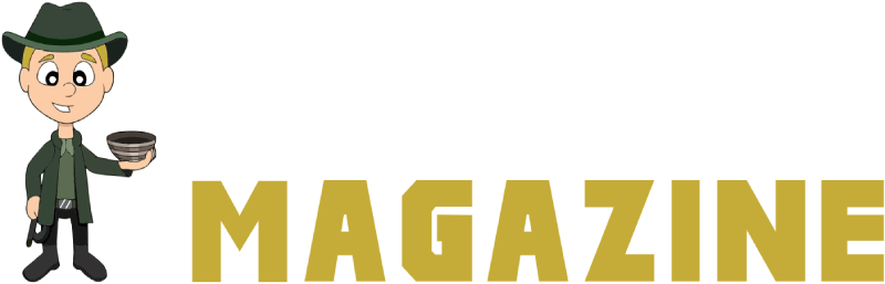 The Archaeology and Metal Detecting Magazine Logo