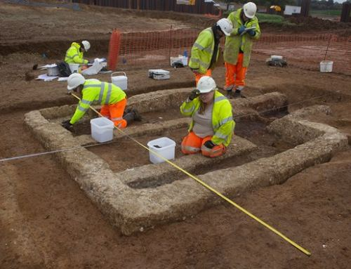 Fascinating archaeological finds along new A120 route